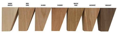Brown Wood Large Cosmo Corbel Unfinished Cherry 01601020CH1