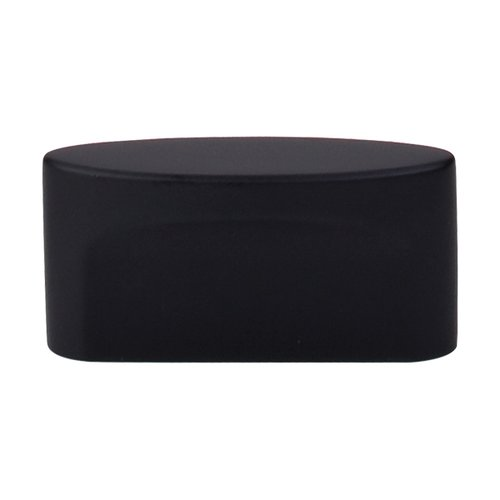 Top Knobs Sanctuary 1-1/2 Inch Center to Center Flat Black Cabinet Knob TK74BLK
