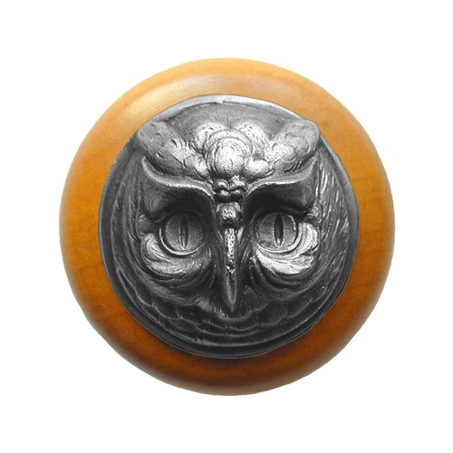 Notting Hill Great Outdoors 1-1/2 Inch Diameter Antique Pewter Cabinet Knob NHW-711M-AP