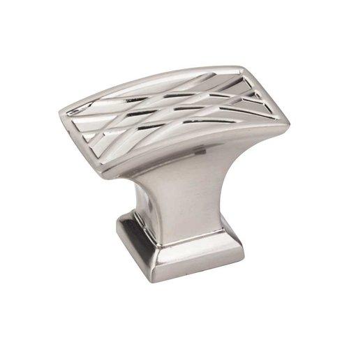 Jeffrey Alexander Aberdeen 1-1/2 Inch Diameter Satin Nickel Cabinet Knob 535L-SN