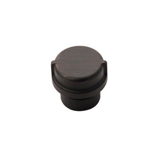 "Hickory Hardware Pipeline Knob 1-1/4"" Dia Vintage Bronze HH075028-VB"