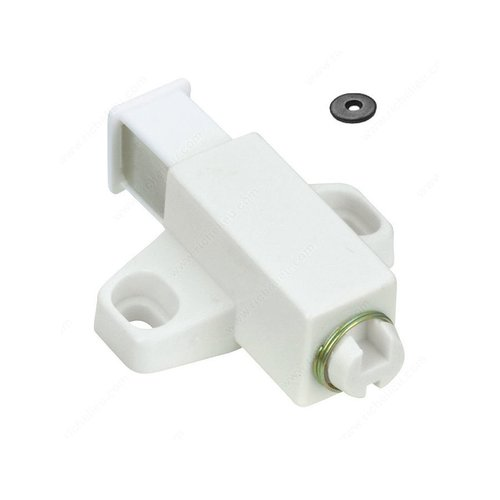 Single Magnetic Touch Latch - White