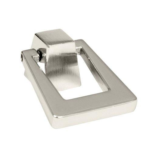 Blackrock 1-13/16 Inch Length Polished Nickel Cabinet Pull <small>(#BP55274PN)</small>