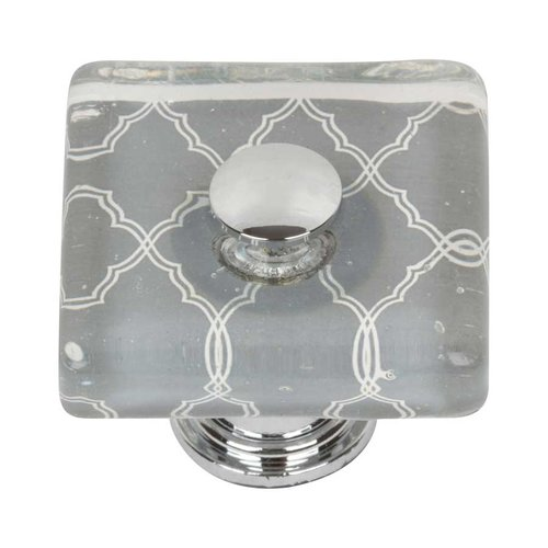 Atlas Homewares Cheetah 1-1/2 Inch Diameter Polished Chrome Cabinet Knob 3234-CH