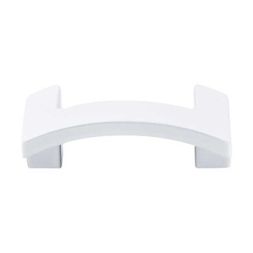 Top Knobs Sanctuary II 1-3/4 Inch Center to Center White Cabinet Pull TK248WHT
