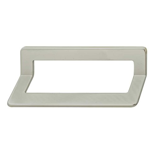 Bella Italiana 3-3/4 Inch Center to Center Polished Chrome Cabinet Pull <small>(#111.72.201)</small>