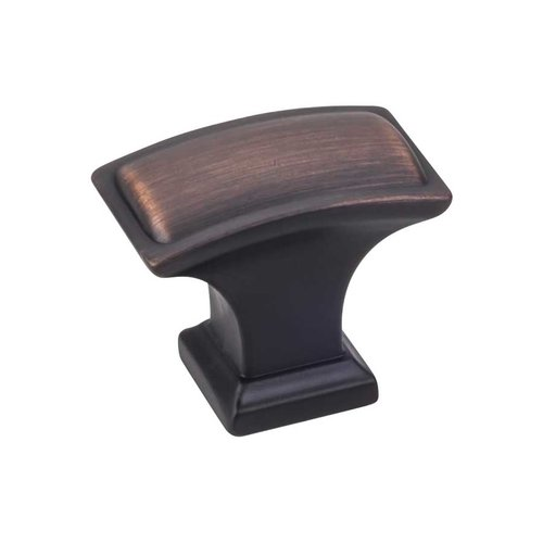 Annadale 1-1/2 Inch Diameter Brushed Oil Rubbed Bronze Cabinet Knob <small>(#435L-DBAC)</small>