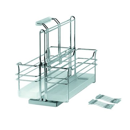 Kessebohmer Two Basket Storage Unit Pullout Chrome 545.48.261