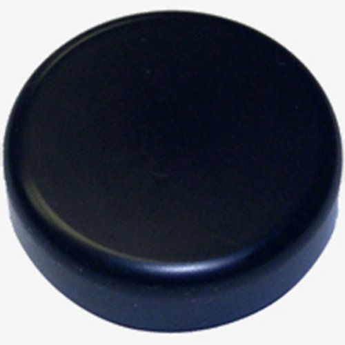 Round Glass Door Cover Cap - Black <small>(#84.414)</small>