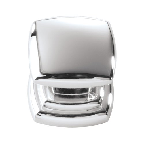 Hickory Hardware Euro-Contemporary 1-1/4 Inch Diameter Chrome Cabinet Knob P3181-CH