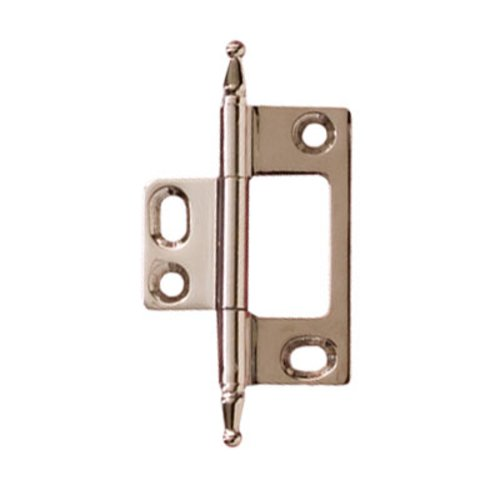 Hafele Elite Non-Mortised Butt Hinge 50X37mm - Polished Nickel 351.95.780