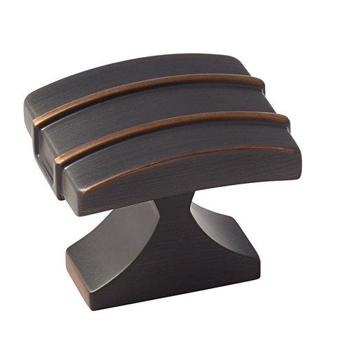 Amerock Davenport 1-1/2 Inch Diameter Oil Rubbed Bronze Cabinet Knob BP36602ORB