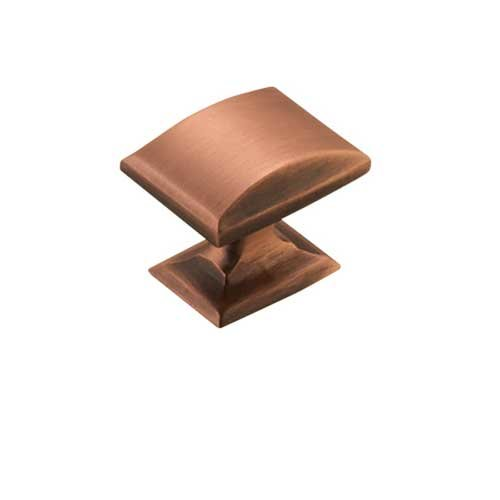 Amerock Candler 1-1/4 Inch Diameter Brushed Copper Cabinet Knob BP29340BC