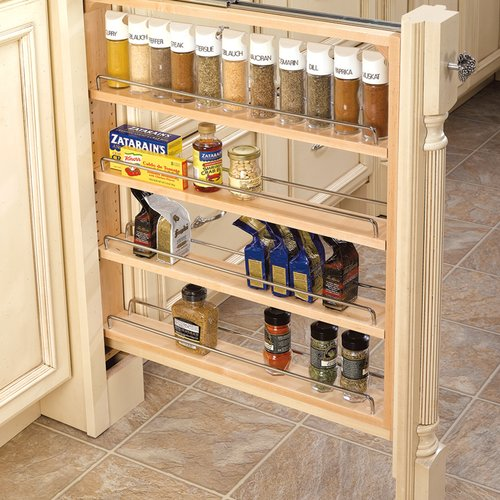 "Rev-A-Shelf 432 Base Filler 3"" - Wood 432-BF-3C"