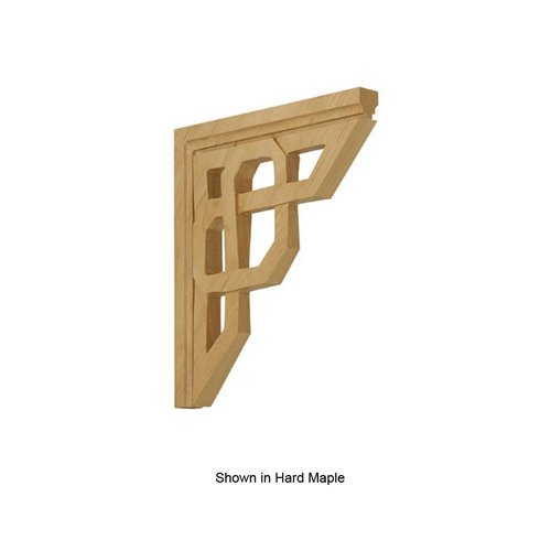 Brown Wood Celtic Bracket Unfinished Cherry 01601401CH1