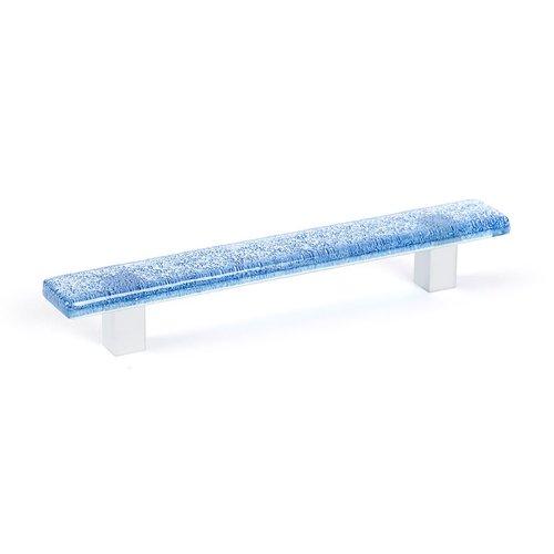 R. Christensen Aqua 5-1/16 Inch Center to Center Blue Cabinet Pull 9648-1000-C