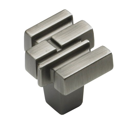 Schaub and Company Stonehenge 1-1/8 Inch Diameter Antique Nickel Cabinet Knob 290-AN