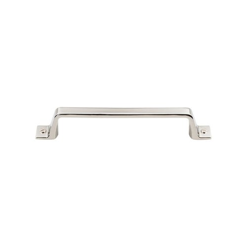 Top Knobs Barrington 5-1/16 Inch Center to Center Polished Nickel Cabinet Pull TK744PN