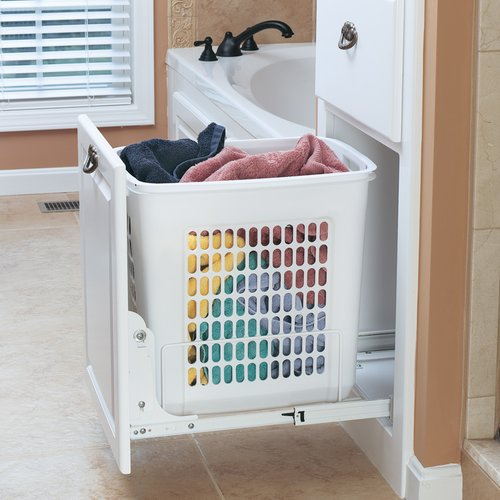 HPRV Pull-Out Polymer Hamper <small>(#HPRV-1520 S)</small>