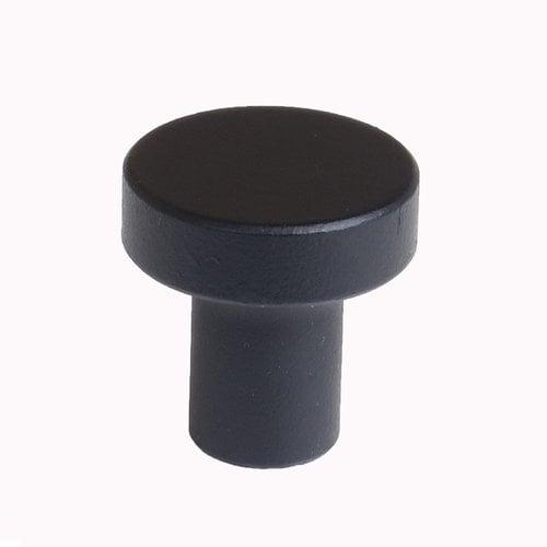 "Acorn Manufacturing Foucault Knob 1"" Dia Matte Black PMMB7"