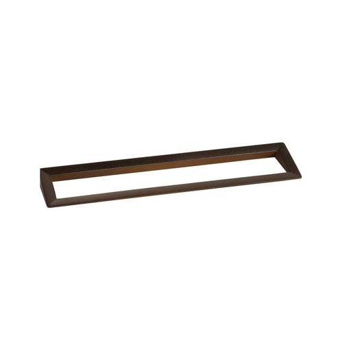Zen Dharma 7-1/2 Inch Center to Center Antique Rust Cabinet Pull ZP0047.599
