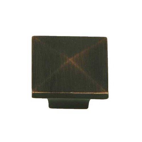 Stone Mill Hardware Milan 1-1/4 Inch Diameter Oil Rubbed Bronze Cabinet Knob CP53082-OB