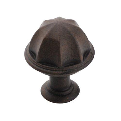 Amerock Eydon 1 Inch Diameter Antique Rust Cabinet Knob BP53035ART