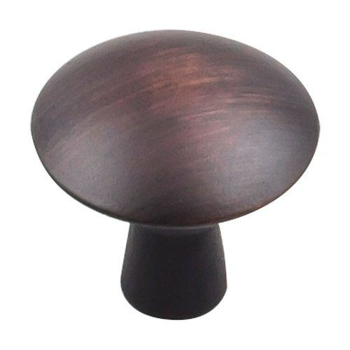 "Elements by Hardware Resources Zachary Knob 1-1/16"" Dia Brushed Oil Rubbed Bronze 988DBAC"