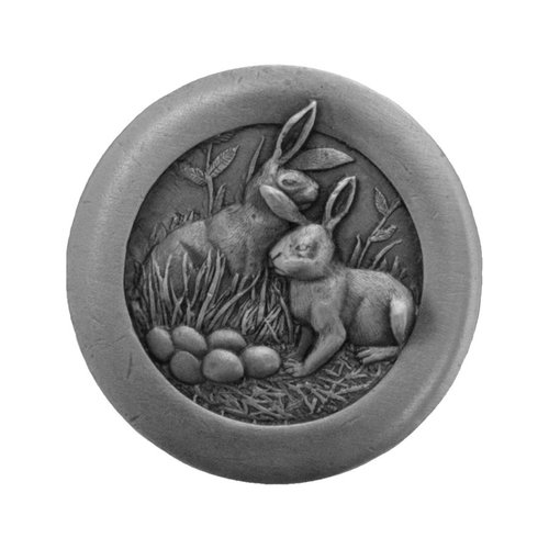 Notting Hill All Creatures 1-3/8 Inch Diameter Antique Pewter Cabinet Knob NHK-166-AP