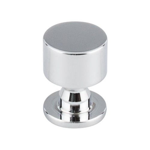 Top Knobs Serene 1 Inch Diameter Polished Chrome Cabinet Knob TK820PC