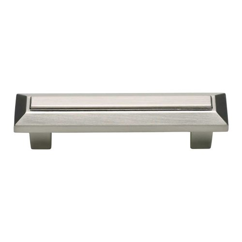 Atlas Homewares Trocadero 3 Inch Center to Center Brushed Nickel Cabinet Pull 241-BRN