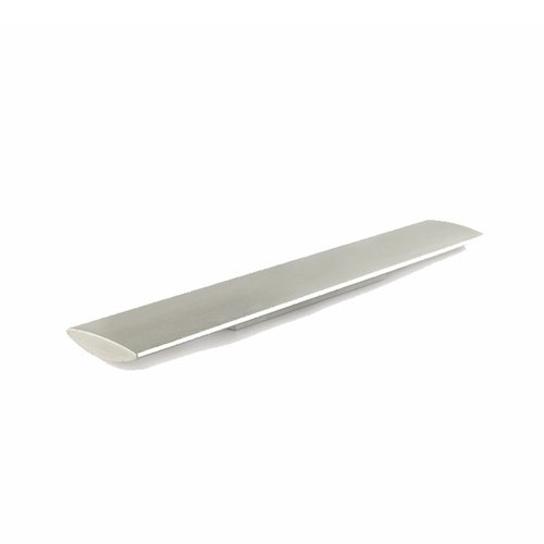 Richelieu Cut Out 3-3/4 Inch Center to Center Brushed Nickel Cabinet Pull 61851280195