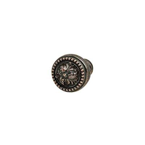 Hafele Artisan 1 Inch Diameter Florentine Bronze Cabinet Knob 125.86.140