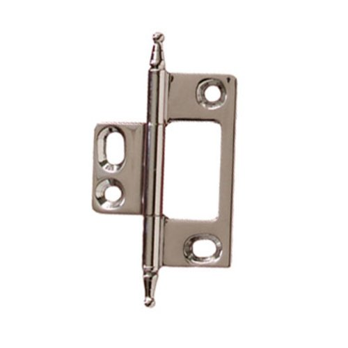Hafele Elite Non-Mortised Butt Hinge 50X37mm - Polished Chrome 351.95.280
