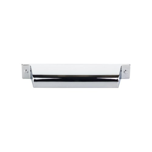 Top Knobs Barrington 5 Inch Center to Center Polished Chrome Cabinet Cup Pull TK774PC