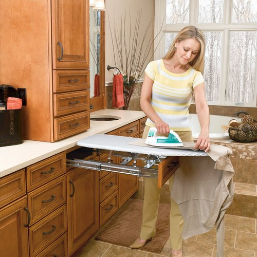Rev-A-Shelf Vanity Fold Out Ironing Board VIB-20CR