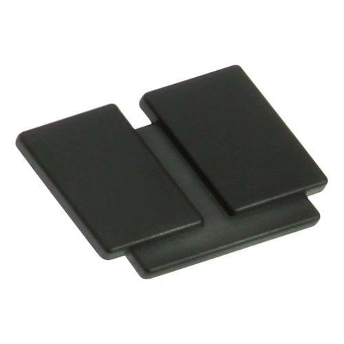 Laurey Hardware Division 1-3/8 Inch Diameter Matte Black Cabinet Knob 38020