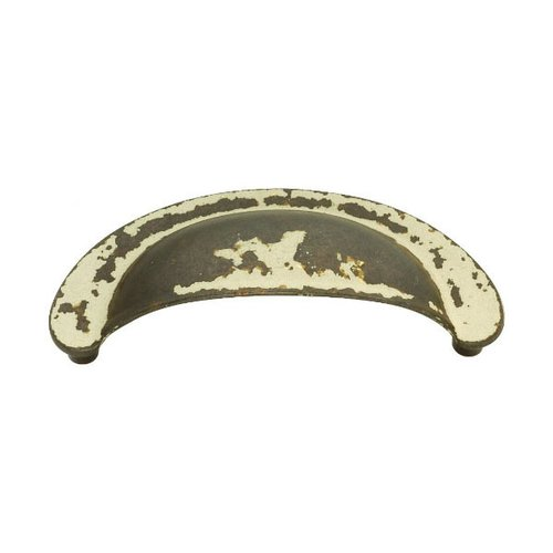 Hickory Hardware Manchester 2-3/4 Inch Center to Center Biscayne Antique Cabinet Cup Pull PA1021-BYA