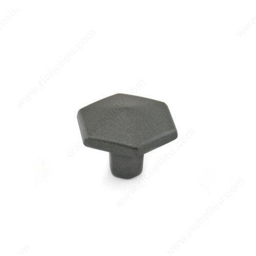 Richelieu Honeycomb 1-1/2 Inch Diameter Graphite Cabinet Knob 507838905