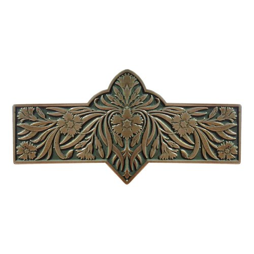 Notting Hill English Garden 3 Inch Center to Center Antique Brass Cabinet Pull NHP-678-AB-C