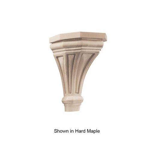 Brown Wood Pinnacle Medium Corbel Unfinished White Oak 01607216WK1