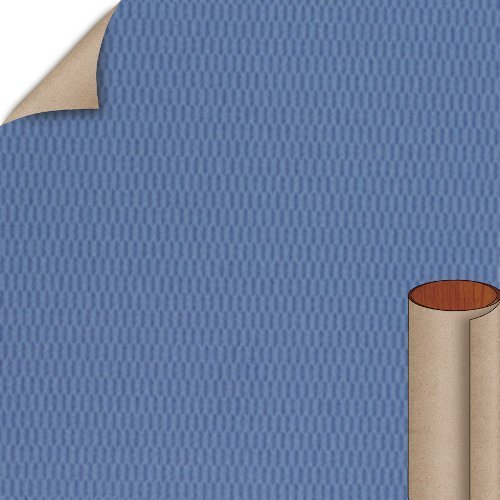 Nevamar Blue Shimmer Hautelink Textured Finish 5 ft. x 12 ft. Countertop Grade Laminate Sheet HLB001T-T-H5-60X144