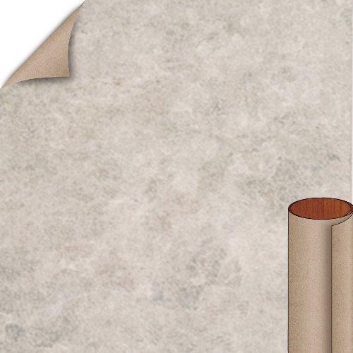 Nevamar Grey Tranquility Textured Finish 4 ft. x 8 ft. Countertop Grade Laminate Sheet TQ6001T-T-H5-48X096
