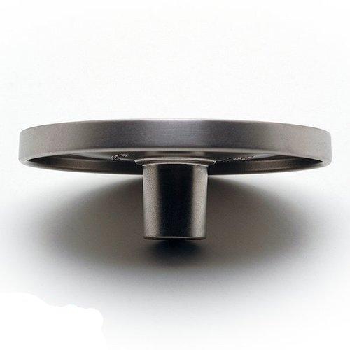 Richelieu Geometric 3-15/16 Inch Diameter Brushed Nickel Cabinet Knob 616435100195