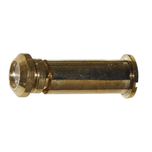 Don-Jo Door Viewer 160 Degree View Dimension Bright Brass DV-90-605