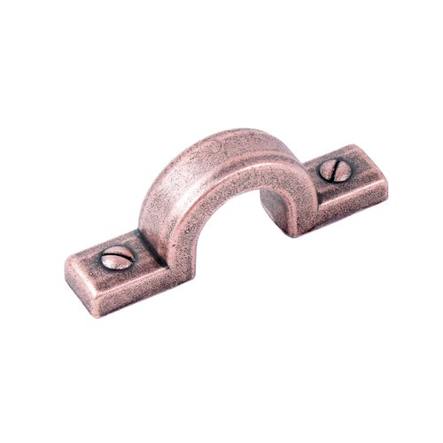 "Century Hardware Raw Authentic Pull 1-1/4"" C/C Aged Matte Red Copper 20770-MAC"
