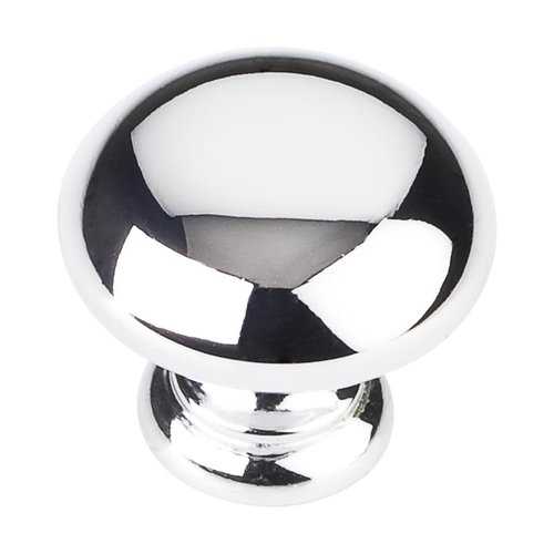 Elements by Hardware Resources Geneva 1-1/4 Inch Diameter Polished Chrome Cabinet Knob Z6001PC