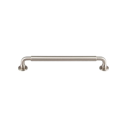 Top Knobs Serene 7-9/16 Inch Center to Center Brushed Satin Nickel Cabinet Pull TK825BSN