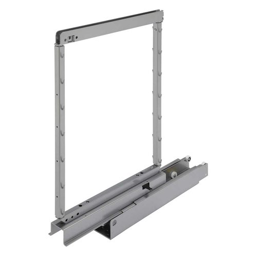 Kessebohmer Pantry Frame 31-1/2 inch - 47-1/4 inch High Silver 546.62.910