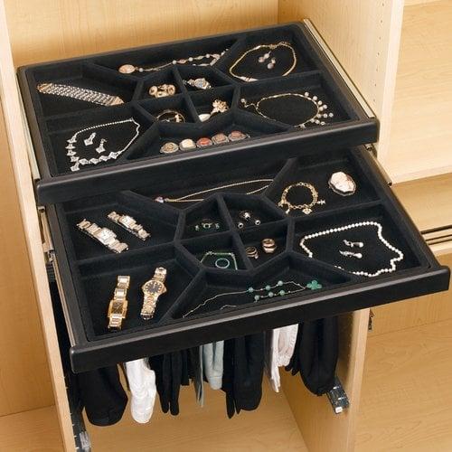Rev-A-Shelf Standard Jewelry Box Insert CJD-24IS